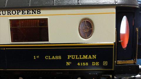 NIOE Pullman NO.4158 ELETTREN(オリエント急行 Oゲージ)