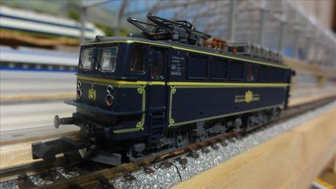 BRAWA Ae477 905-4 Orient Express NIOE専用塗装 Nゲージ