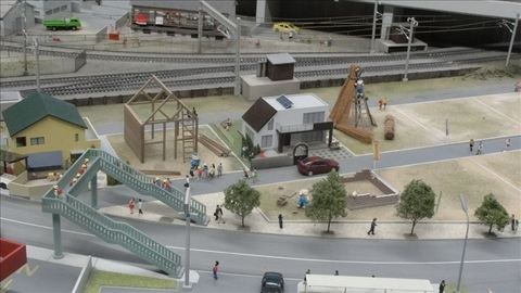リニア鉄道館の鉄道模型レイアウト